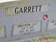"""Profile photo:  Abraham """"A. J."""" Garrett"""