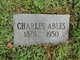 Profile photo:  Charles Ables
