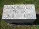 Profile photo:  Anna Margaret <I>Ohlfest</I> Fisher