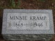 Profile photo:  Minnie Kramp
