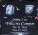 Debra Ann <I>Williams</I> Campos