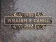 Profile photo:  William F. Cahill