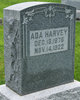 Profile photo:  Ada May Harvey