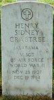 Profile photo:  Henry Sidney Crabtree