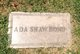 Profile photo:  Ada <I>Shaw</I> Bond