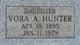 Vora A. Hunter