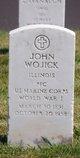 Profile photo:  John Wojick