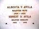 Profile photo:  Alberta V Avila