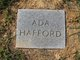 Profile photo:  Ada C Hafford