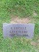 Lida Lucille Greenleaf