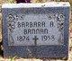 Barbara A. Bannan