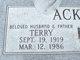 Terry Ackerman