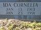 Profile photo:  Ida Cornelia Hill