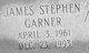 Profile photo:  James Stephen Garner