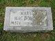 Mary Daisy <I>Jackson</I> MacDougall
