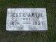 Bessie Jane <I>Hyde</I> Reynolds
