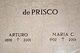 Profile photo:  Arturo de Prisco