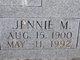 Profile photo:  Jennie Mae <I>Baker</I> Chapman