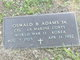 Profile photo:  Oswald B Adams, Sr