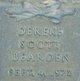 Dereke Scott Bearden
