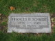Frances <I>Maloney</I> Schmidt