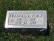 Frances E Voigt
