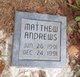 Profile photo:  Matthew Lemar Andrews