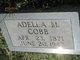 Profile photo:  Adella M Cobb