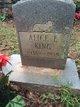 Profile photo:  Alice E King