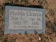 Profile photo:  Hulda Mae <I>Jernigan</I> Church
