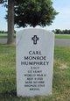 Profile photo:  Carl M Humphrey
