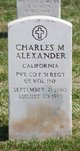 Charles M Alexander