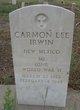 Profile photo:  Carmon Lee Irwin