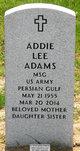 Addie Lee <I>Qualls</I> Adams