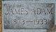 Profile photo:  James Adams