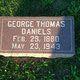 Profile photo:  George Thomas Daniels