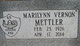 Marilynn <I>Vernon</I> Mettler