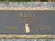 Profile photo:  Abby
