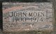 Profile photo:  John Moen