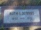 Ruth Irma <I>Brockmeier</I> Denniss
