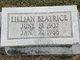 Lillian Beatrice <I>White</I> Alley