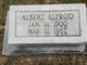 Albert Alfred Alley