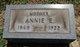 Annie Elisabeth <I>Owens</I> Bowersock