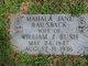 Profile photo:  Mahala Jane <I>Railsback</I> Bush