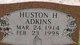 Profile photo:  Huston H Adkins