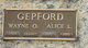 Profile photo:  Alice Lucille <I>Browning</I> Gepford