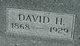 Profile photo:  David Hall Bowen