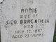 Profile photo:  Annie Bracknell