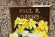Profile photo:  Paul R Drews