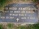 David Rudd Armstrong